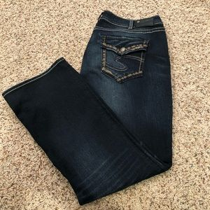 Silver Suki mid slim boot jeans
